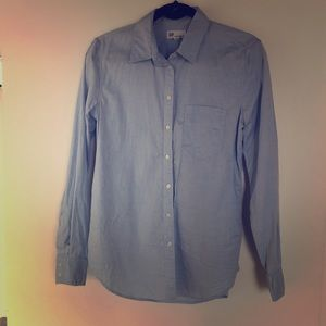 Gap fitted button up shirt